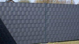 PREMIUM Sichtschutzstreifen Hart-PVC für Doppelstabmatten  | Sichtschutz Garten Metall  |