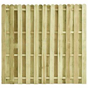 Festnight Zaunelement Kieferholz imprägniert Gartenzaun Sichtschutzzaun  | Sichtschutz Garten Holz  |