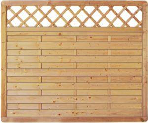 GreenSeason Lamellenzaun London Ranki   | Sichtschutz Garten Holz  | Sichtschutz Holzlamellen Garten