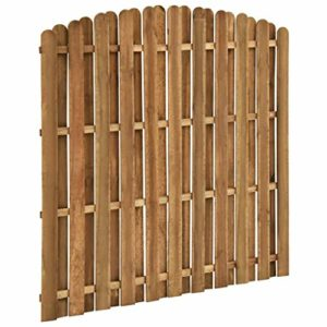 Tidyard Holz-Zaunelement Zaunfeld Sichtschutzzaun-Element   | Sichtschutz Garten Holz  |