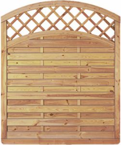 GreenSeason Lamellenzaun London  | Sichtschutz Garten Holz  | Sichtschutz Holzlamellen Garten
