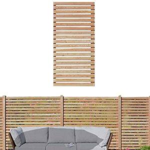 Gartenpirat Sichtschutzzaun  aus Lärchenholz   | Sichtschutz Garten Holz  |
