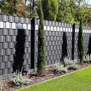 Premium Zaunsichtschutz HART-PVC   | Sichtschutz Garten Kunststoff  | Sichtschutz Garten Ideen